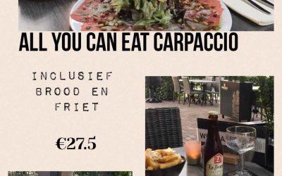 All You can eat Carpaccio!